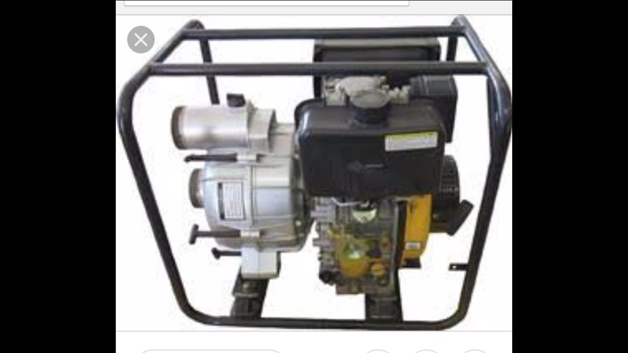 diesel trash pump