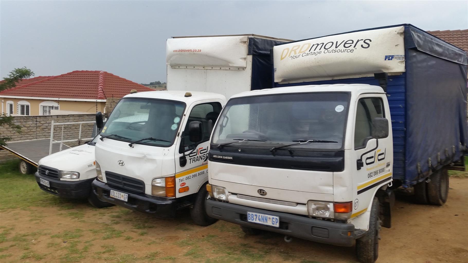 Transport: Available Now. Call 082 066 8088. Local and Long Distance