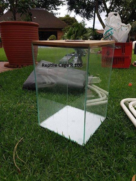 Smaller reptile cage