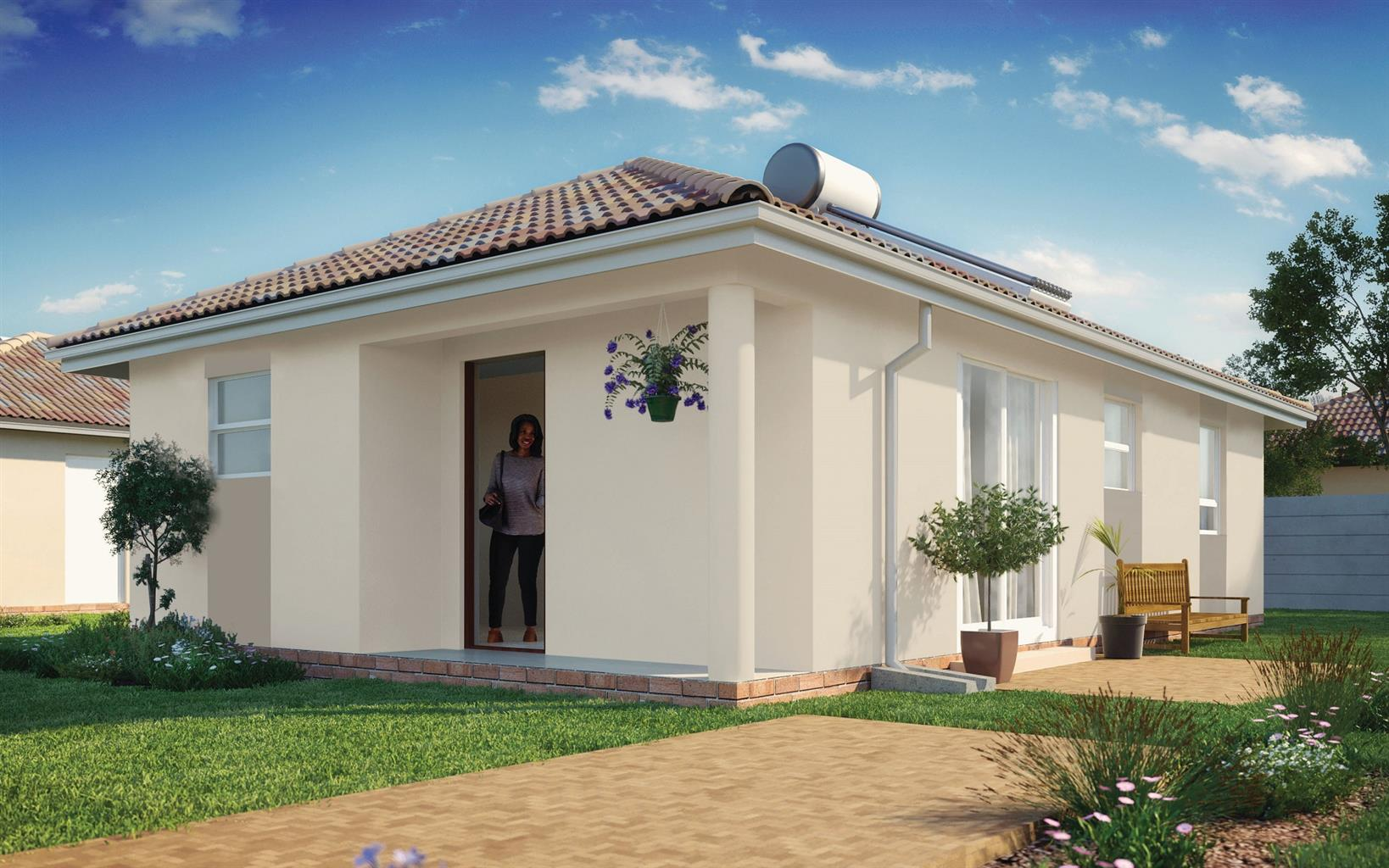 Make this beautiful property your Home today for only R709 900!