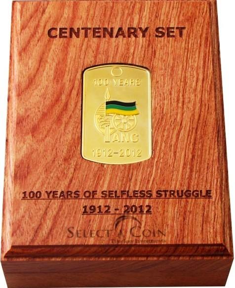 Nelson Mandela Centenay Medallion Set