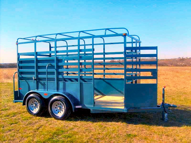 Calico Bumper Pull Livestock / Cattle Trailer