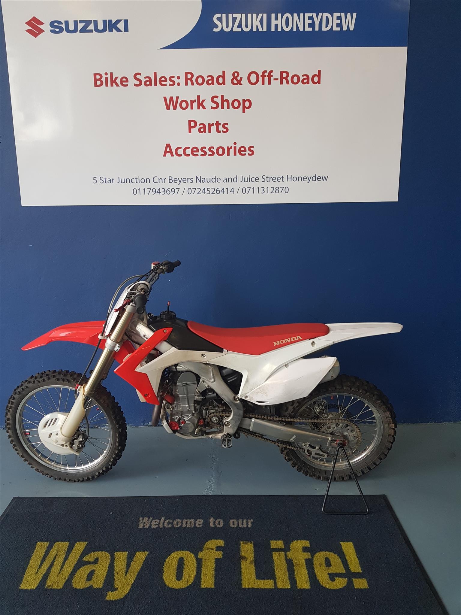 2013 Honda CRF