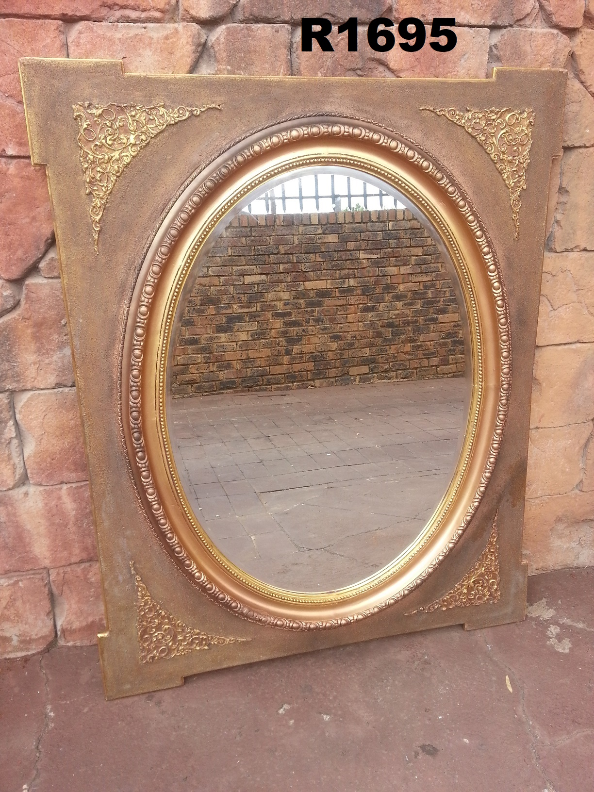 Big Vintage Oval Mirror (1215x1510)
