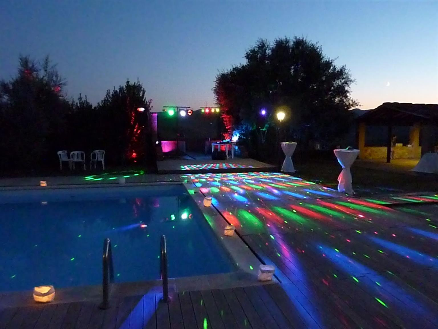 party lights - for hire