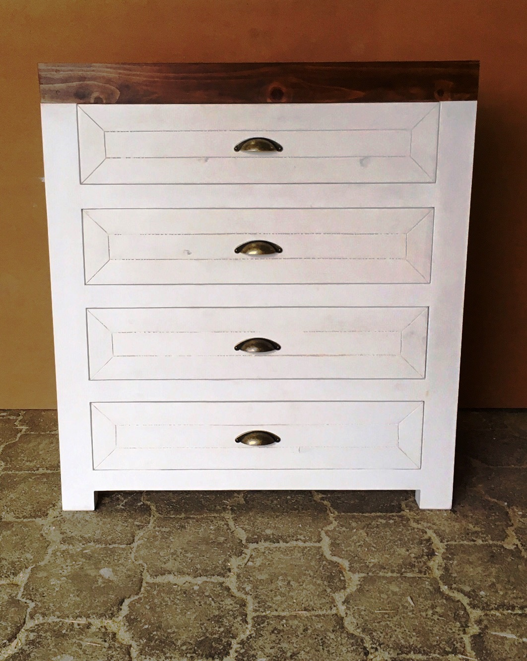 Chest of drawers Farmhouse series 900 Two toned