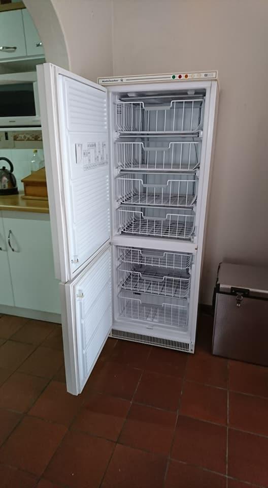 Kelvinator upright freezer,