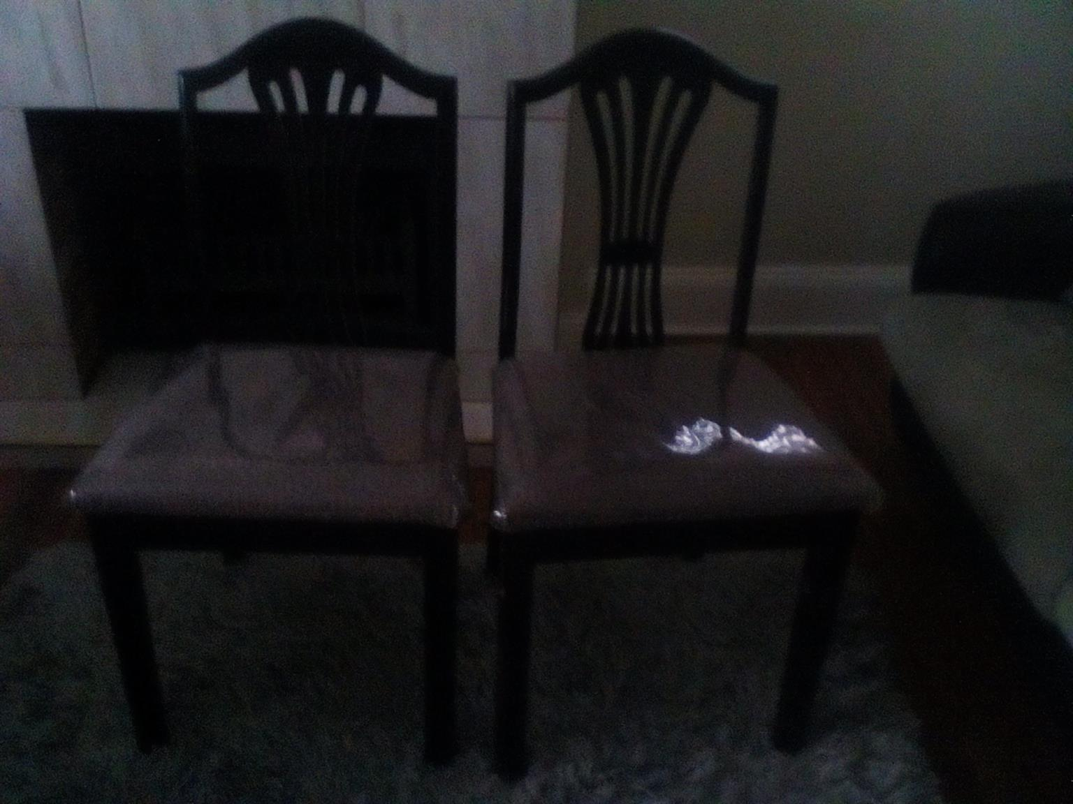 Two chairs R150 for both