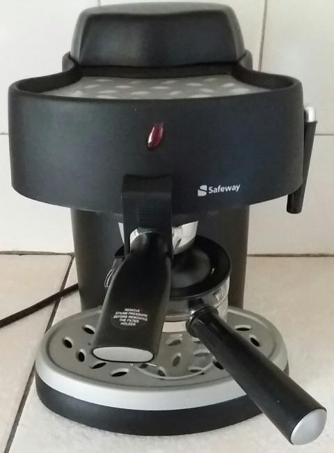 Safeway Espresso and Cappuccino machine.