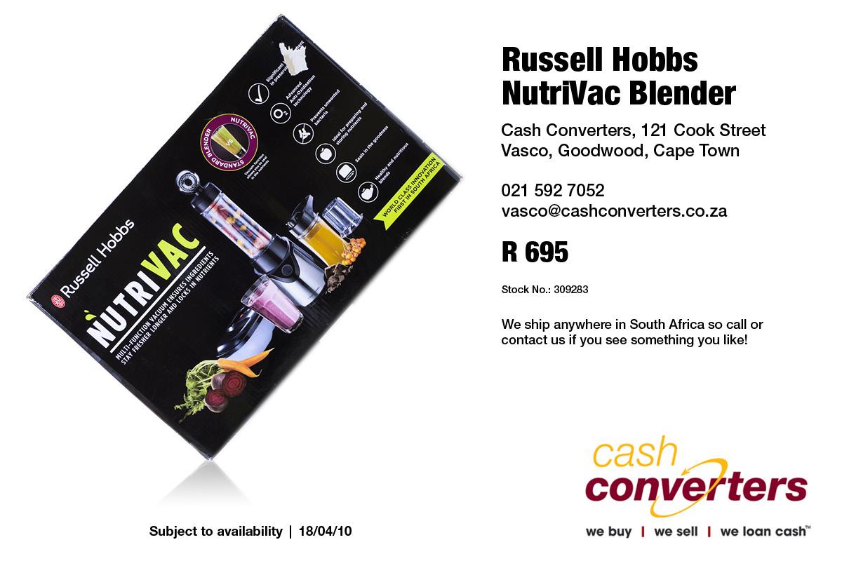 Russell Hobbs NutriVac Blender
