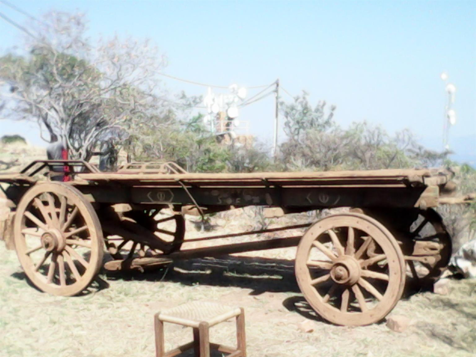 WANTED: old ox wagon or parts thereof | Junk Mail