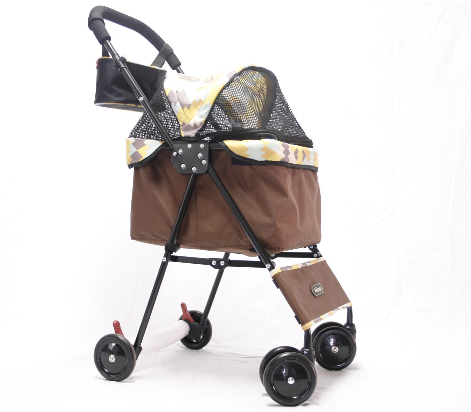 Dog Stroller Mini Buggy ZigZag – 4 wheeler