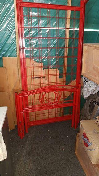 Steel double bunk