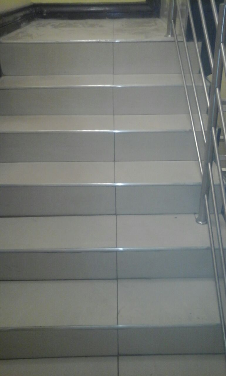 Tiling. Cladding and Painting