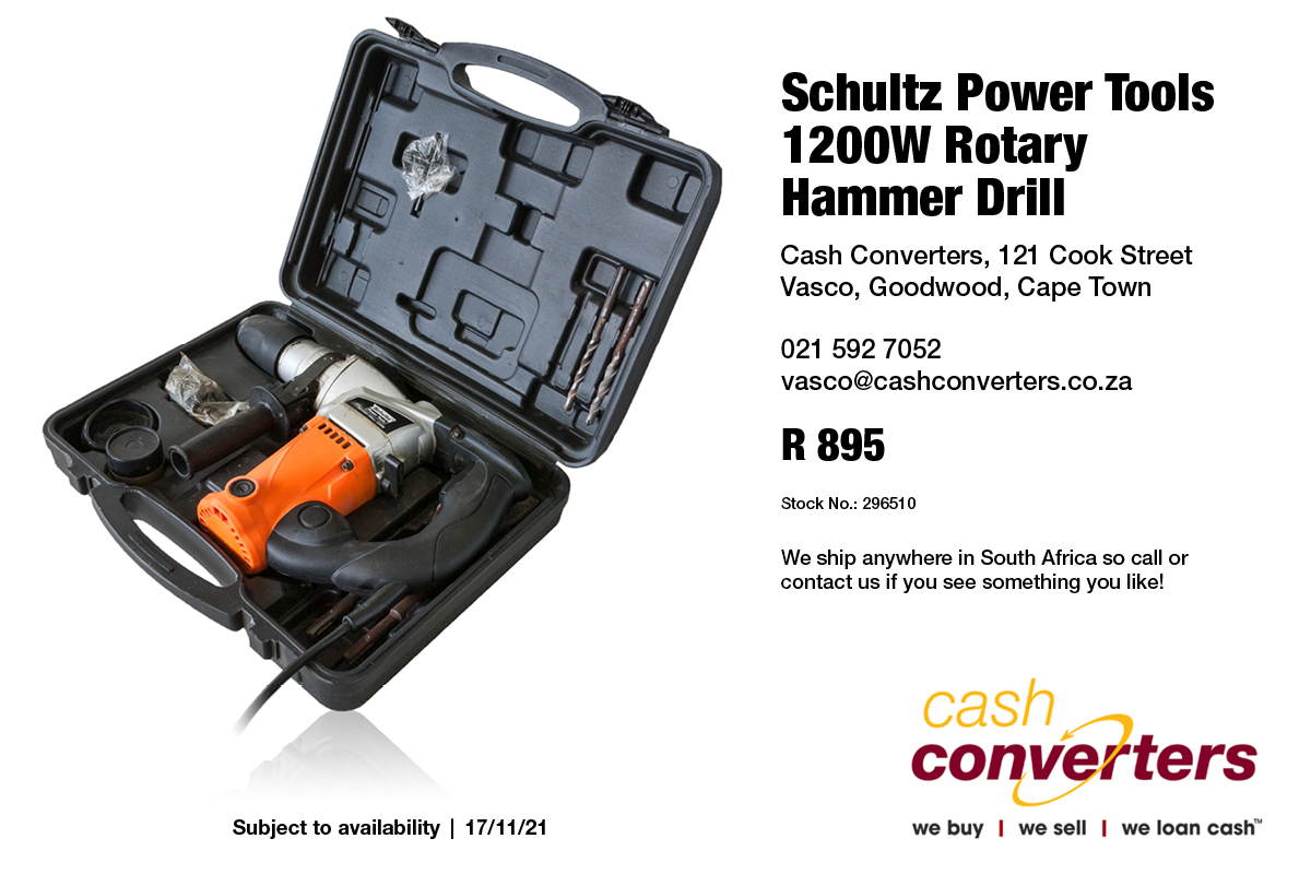 Schultz Power Tools 1200W Rotary Hammer Drill