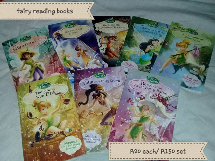 Fairy reading books for sale