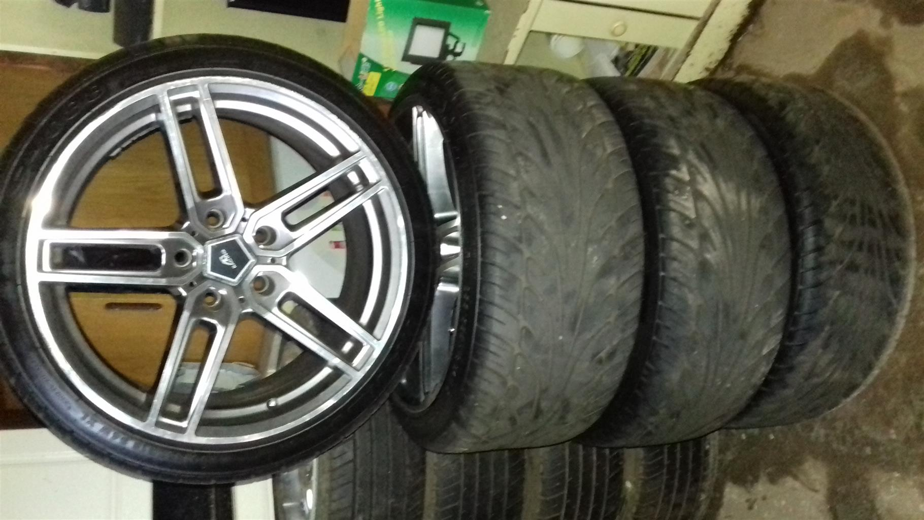 """18"""" Bmw Mags and tyres"""