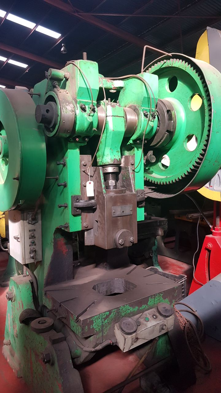 100 Ton eccentric press