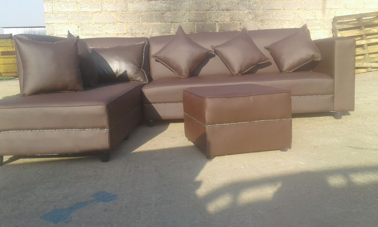 Corner couch side bed 6 seater