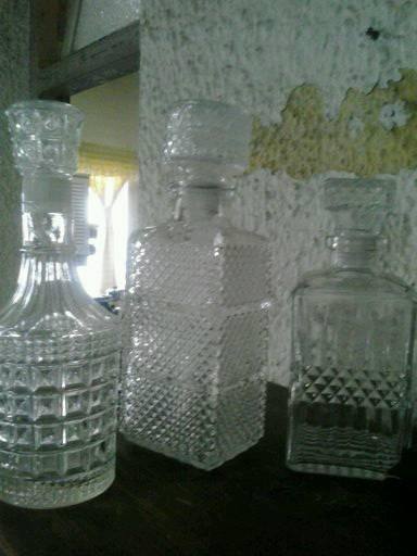 Whiskey decanters for sale