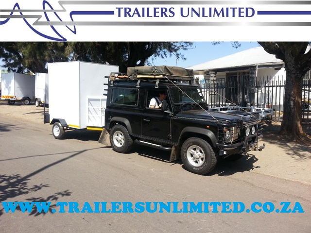 TRAILERS UNLIMITED. MOBILE KITCHEN FROM R19 900.
