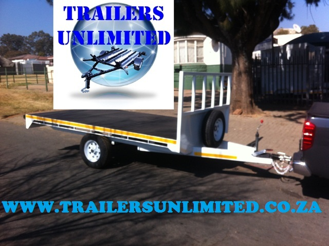 Flat Bed Trailer 3210 x 1700