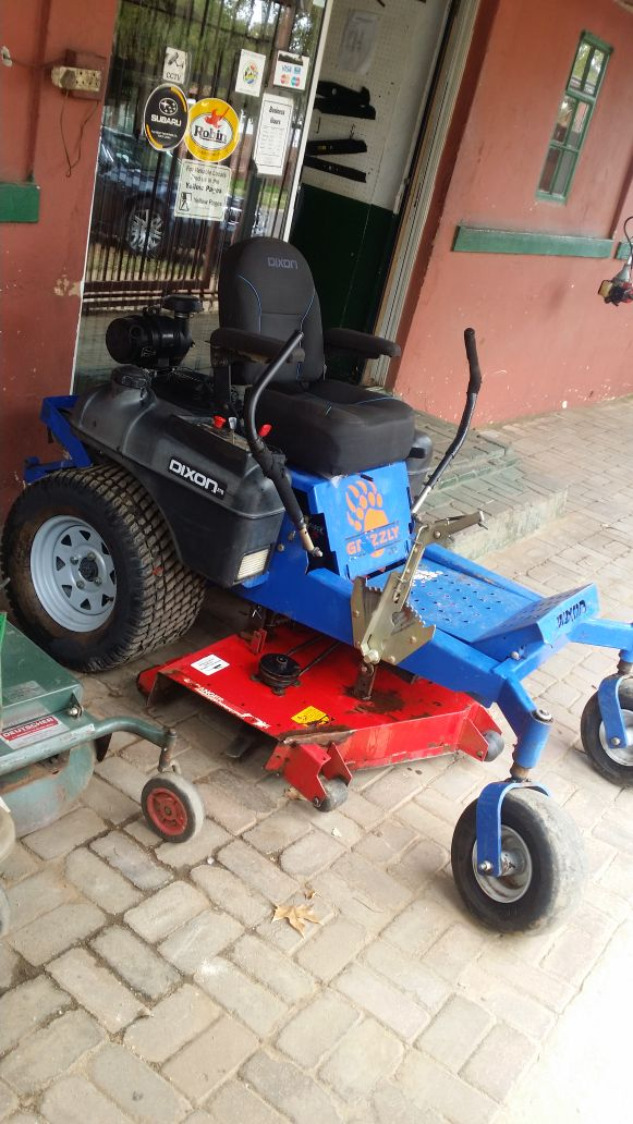 Lawnmowers and brush cutters for sale and repairs