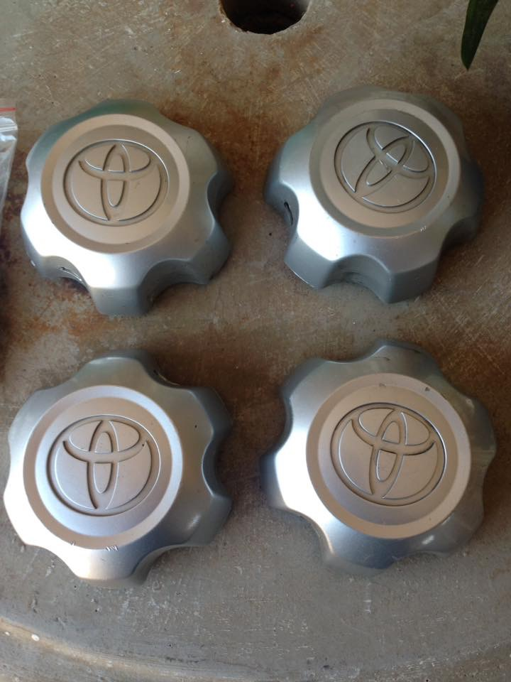 Toyota hilux wheel hubs and lock nuts