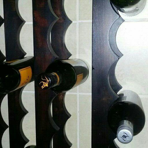 Wine cooler & wine rack