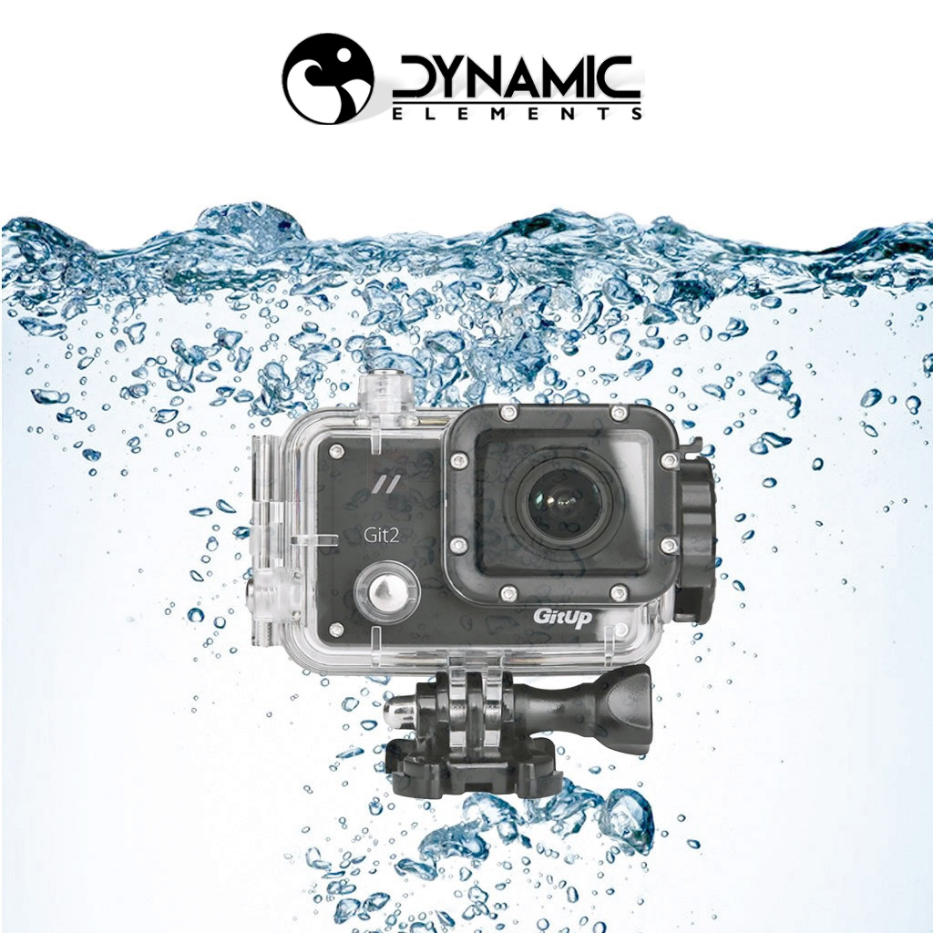Git 2 Pro Waterproof Action Camera