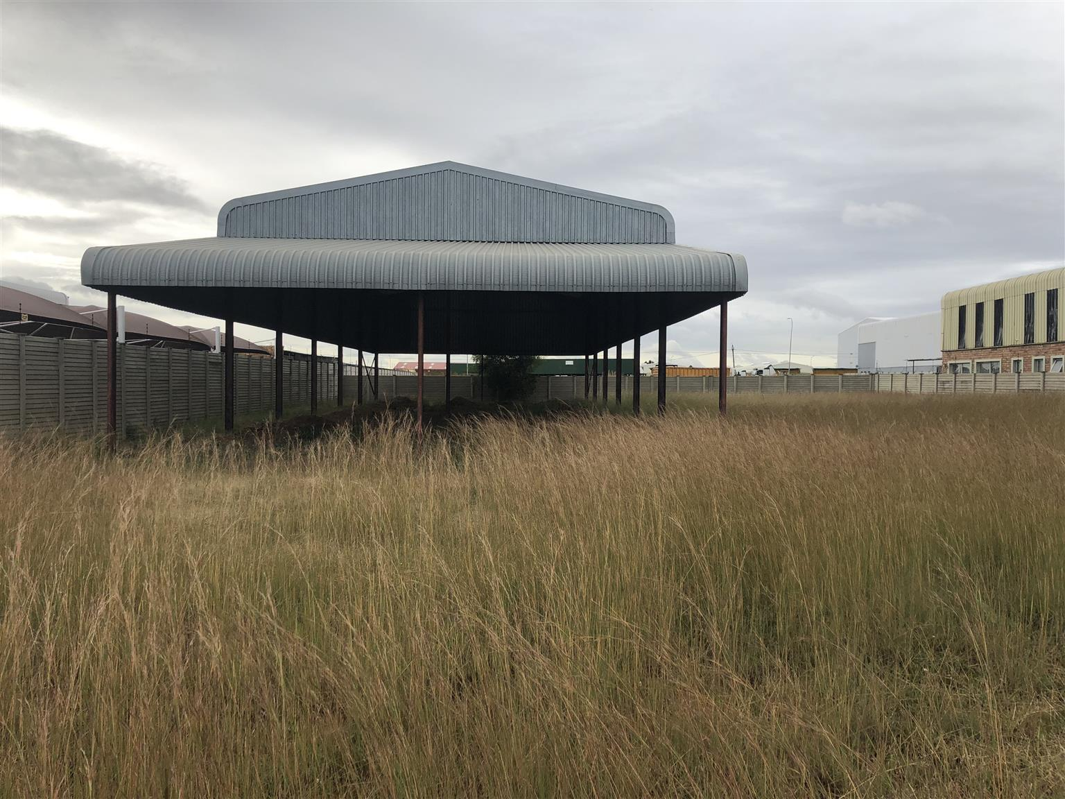 Stand with Structure for Sale in Naledi Industrial Park, Sasolburg