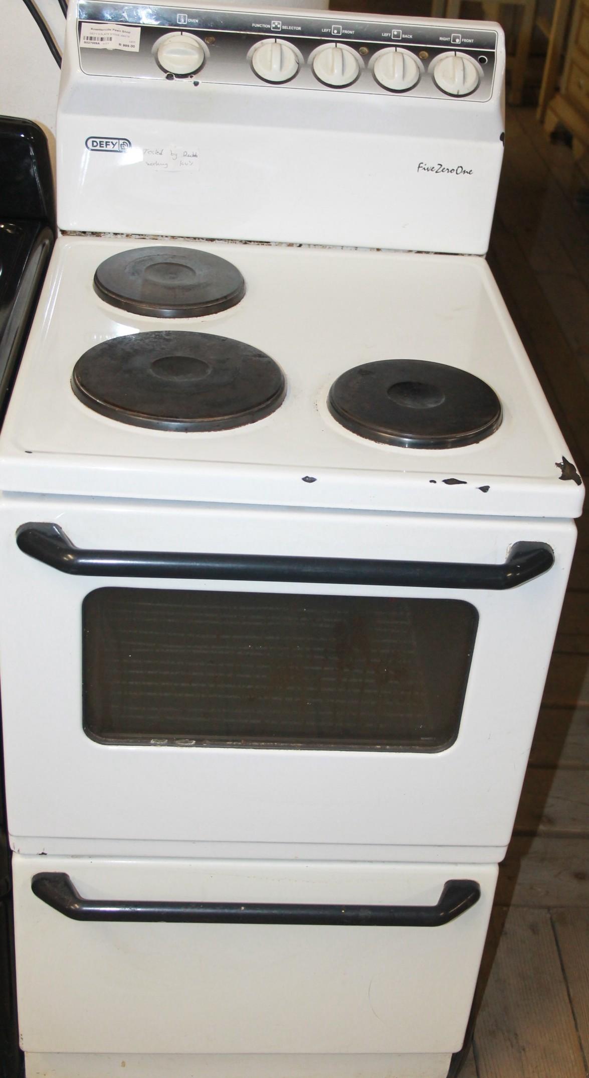 Defy stove S027009a #Rosettenvillepawnshop