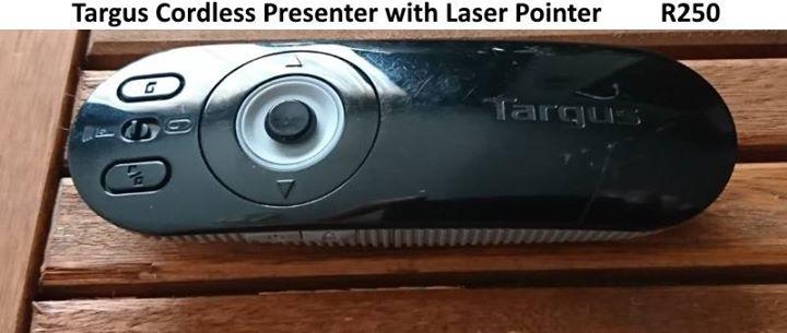 Targus cordless presenter with laser pointer
