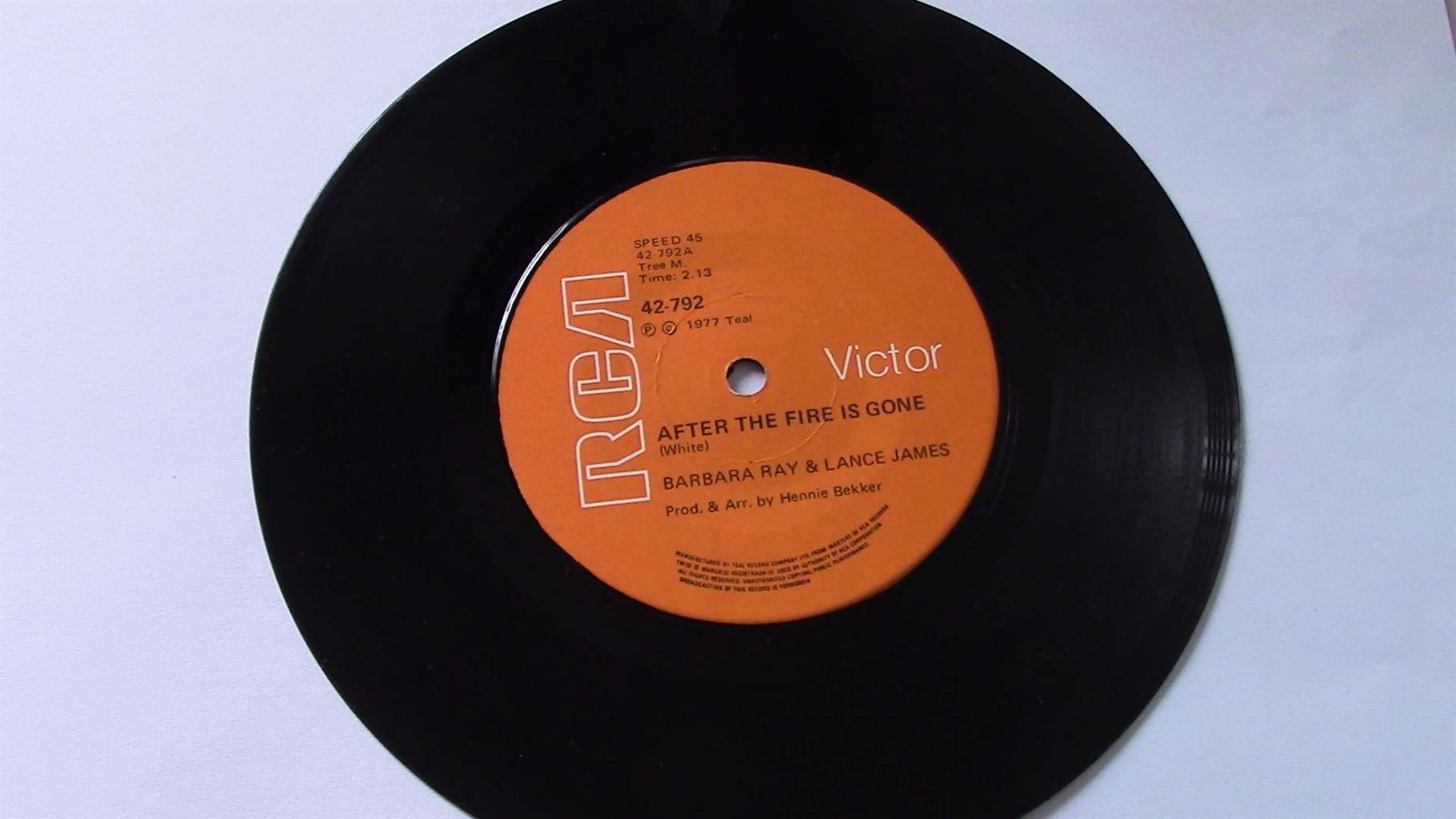 Vinyl Seven Singles oldies (1 - 10)