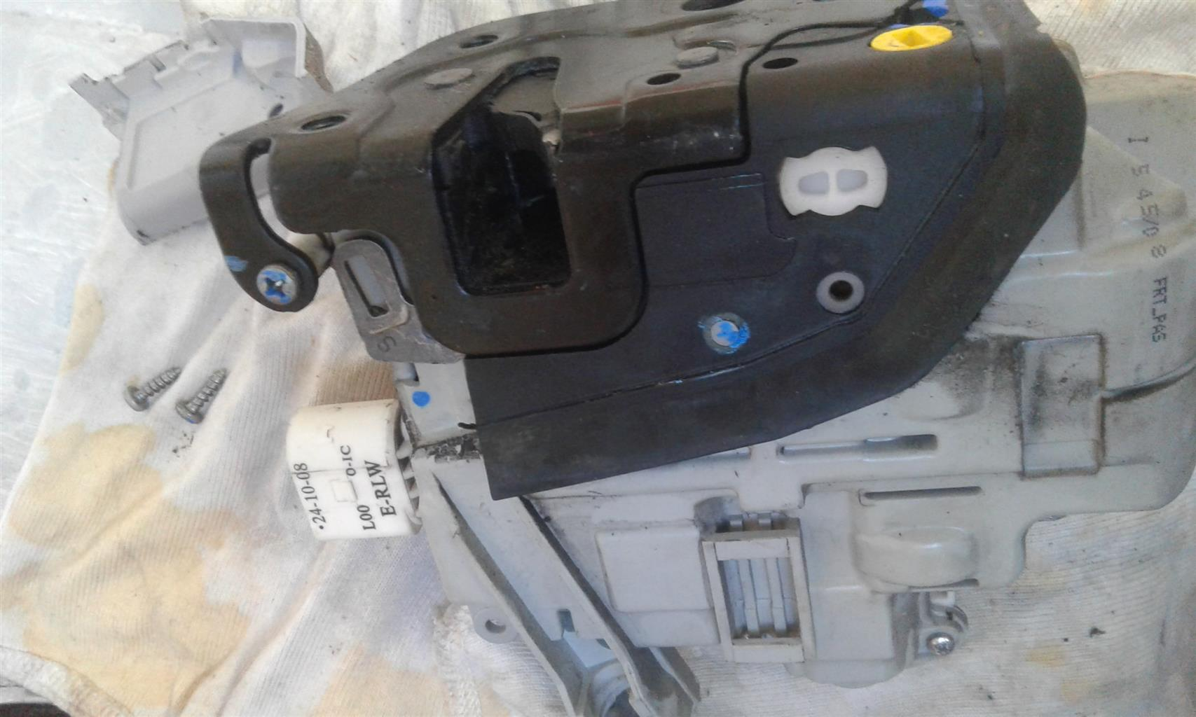 Audi central locking actuator repairs