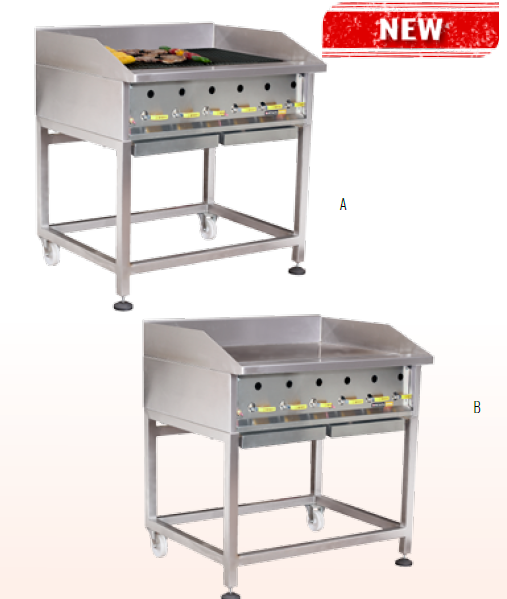 FORGE GRILLERS GAS