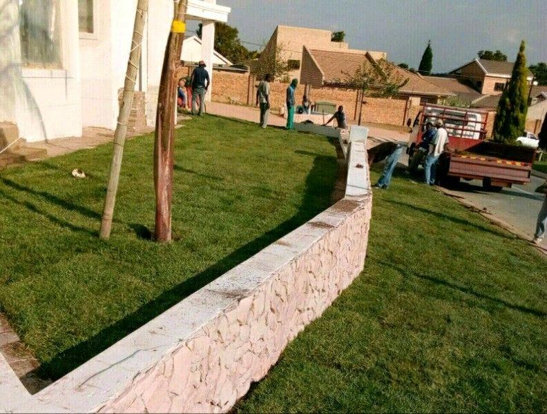 Instant Lawn- Evergreen, LM Berea,Kikuyu & Top Soil: 0781043453