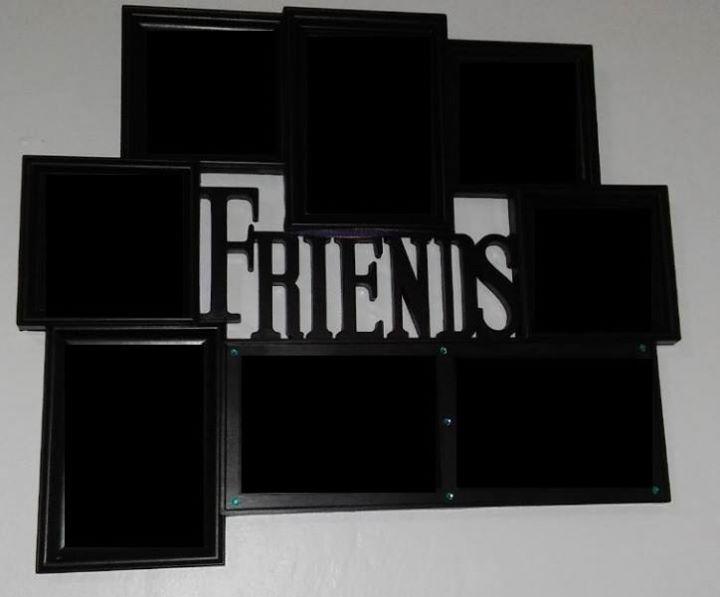 Friends photo frame set