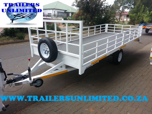 Flat Bed Trailer 4510 x 2000 x 400