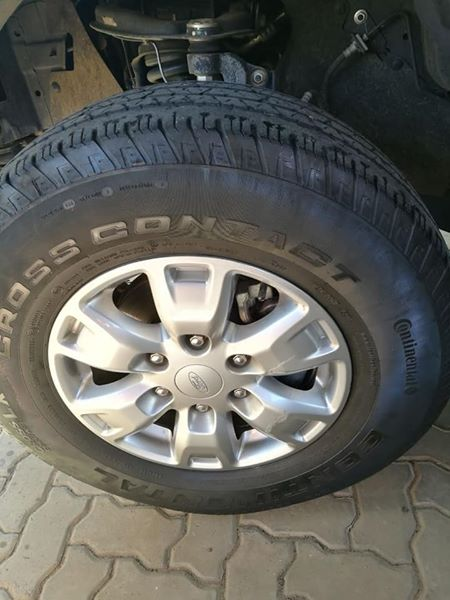 Set of 4 mags with tyres