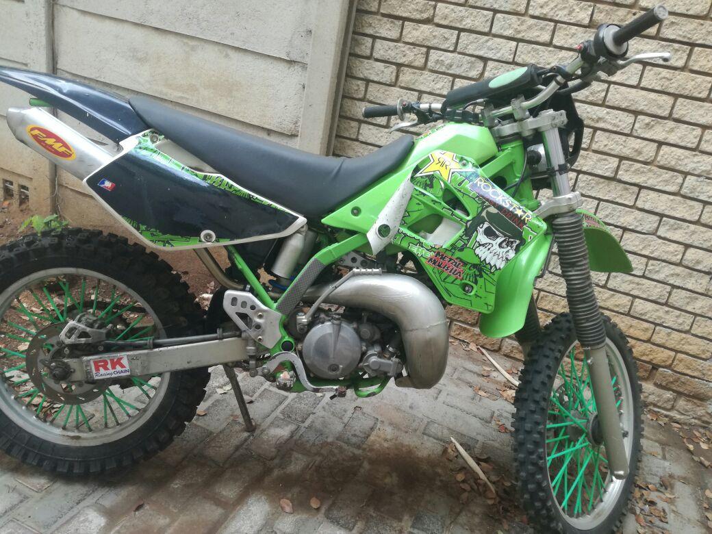 2004 Kawasaki KDX200H
