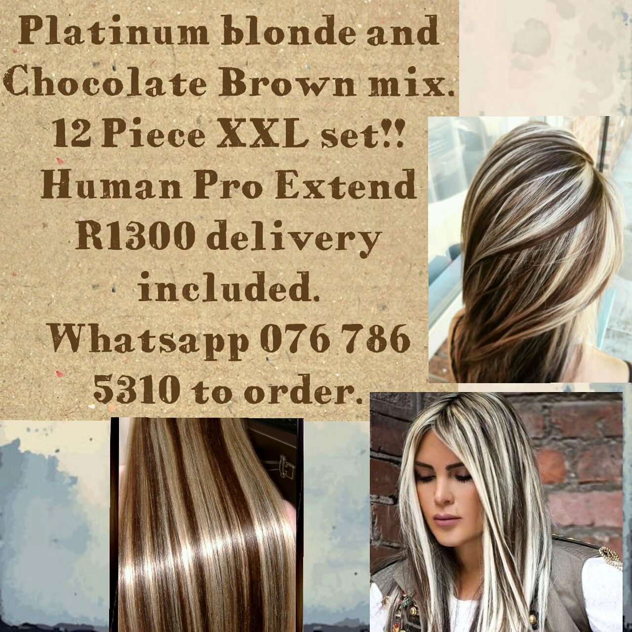 CLIP IN EXTENSIONS FOR INSTANTLY LONG AND BEAUTIFUL HAIR