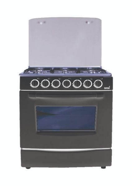 Totai 6 BURNER GAS STOVE WITH GAS OVEN - AUTO IGNITION