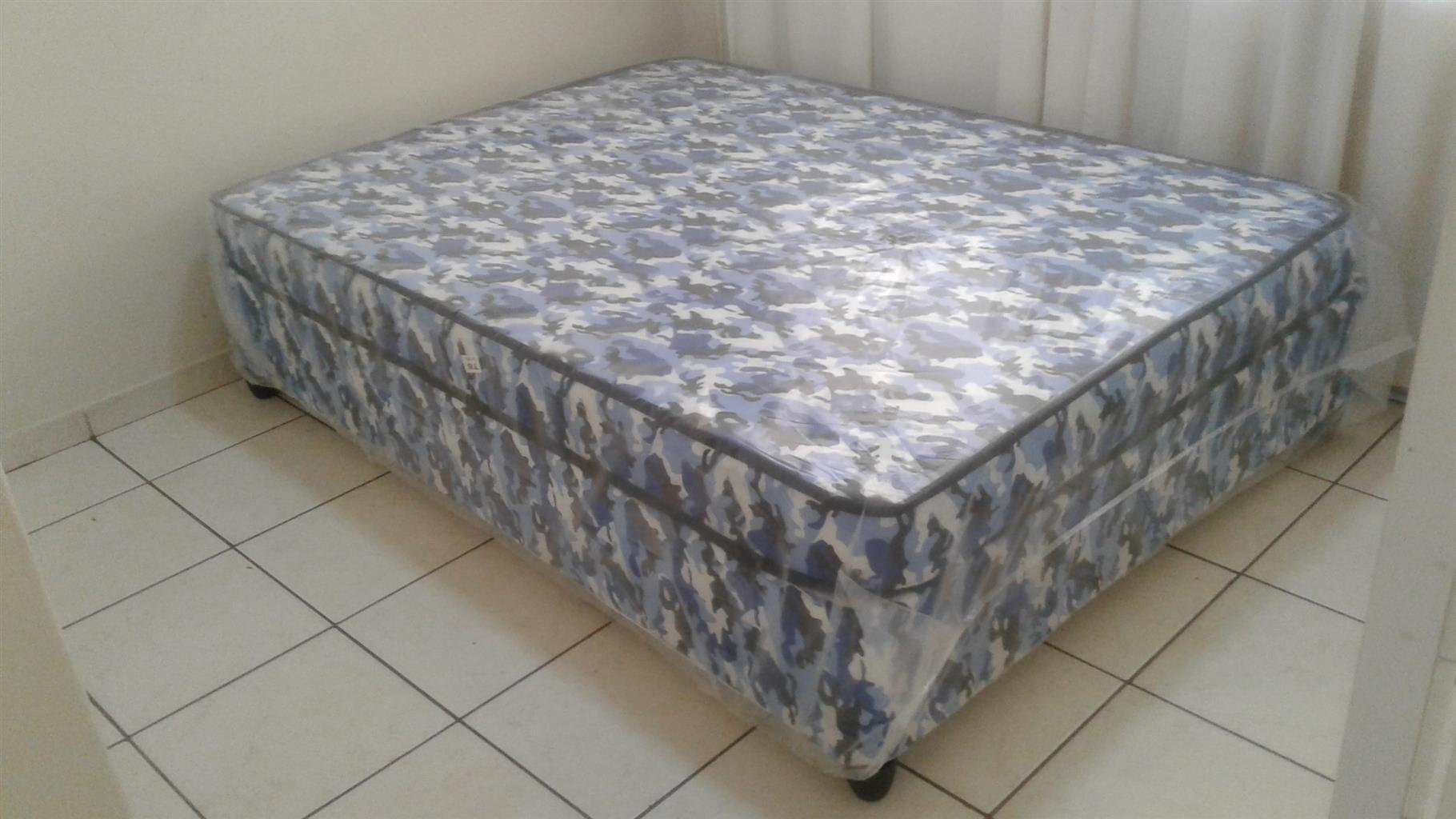 Double Bed,Base and mattress