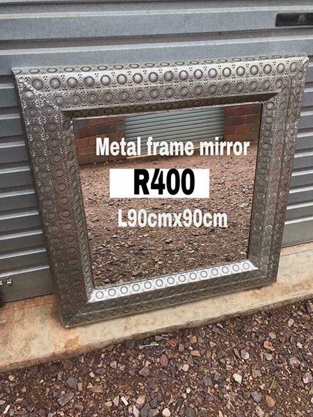 Metal frame mirrir