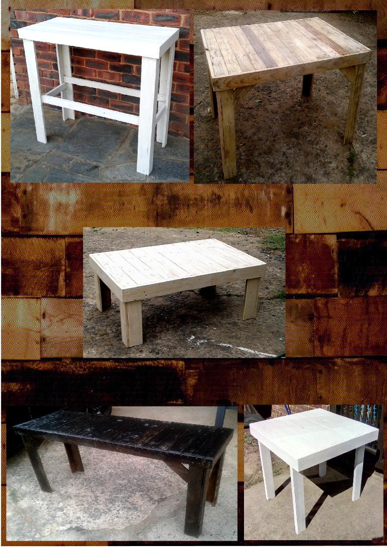 Custom Pallet Wood Furniture