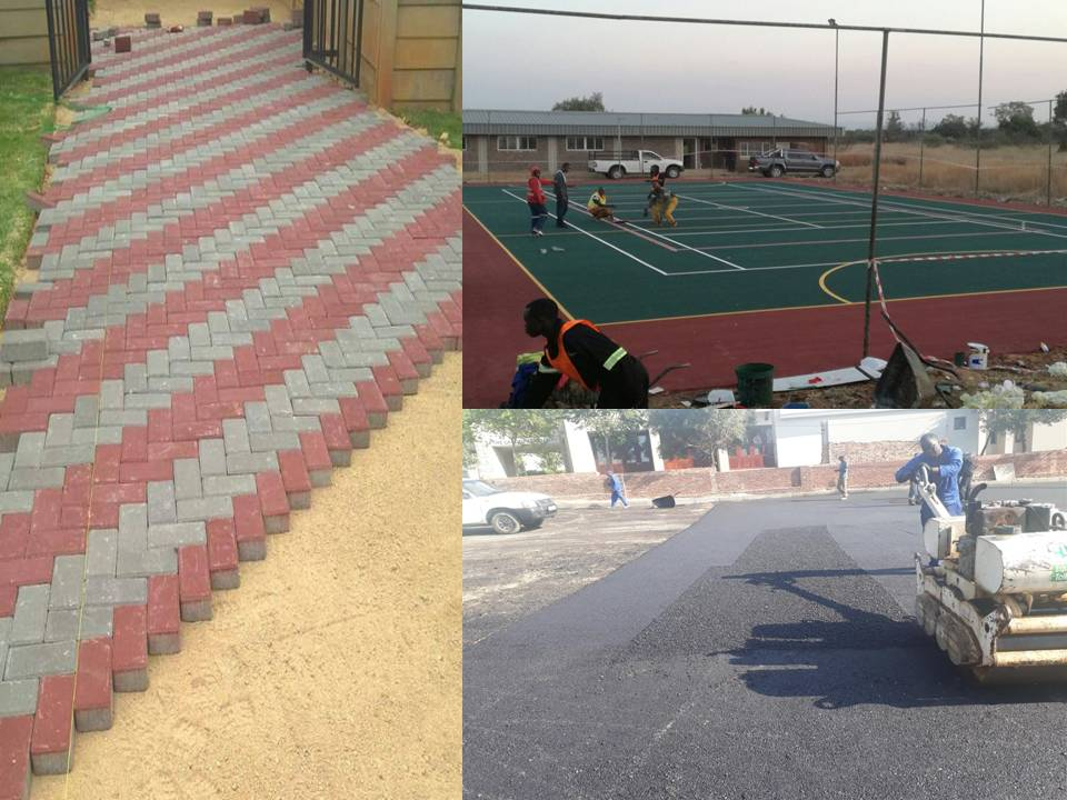 PAVING, TARRING, SPORTS COURTS