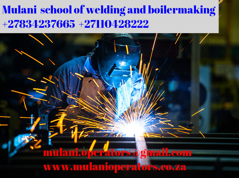 Mulani double coded welding accredited training school +27729553685