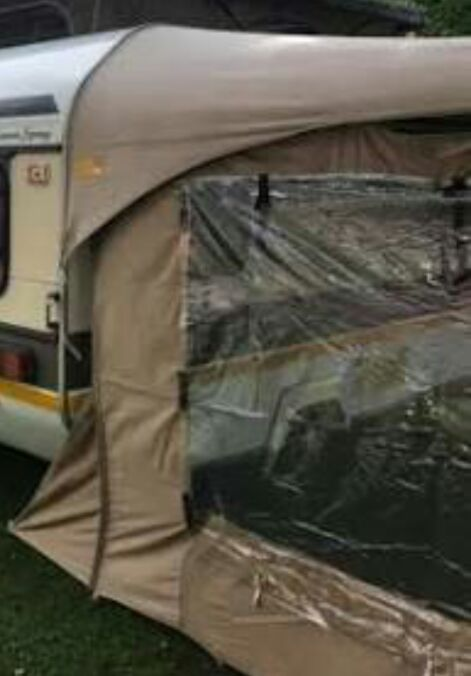 Gypsy 4 full tent and Rally tent with sides for sale