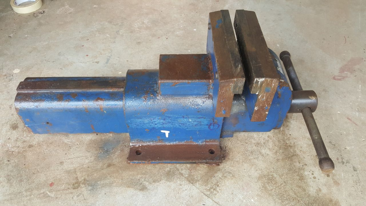 Record Bench Vise